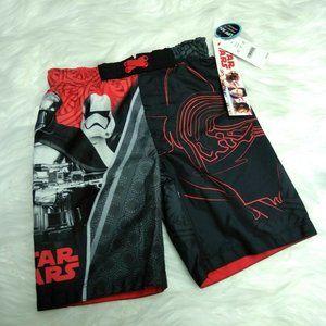 Star Wars Darth Vader Trunks Swimwear